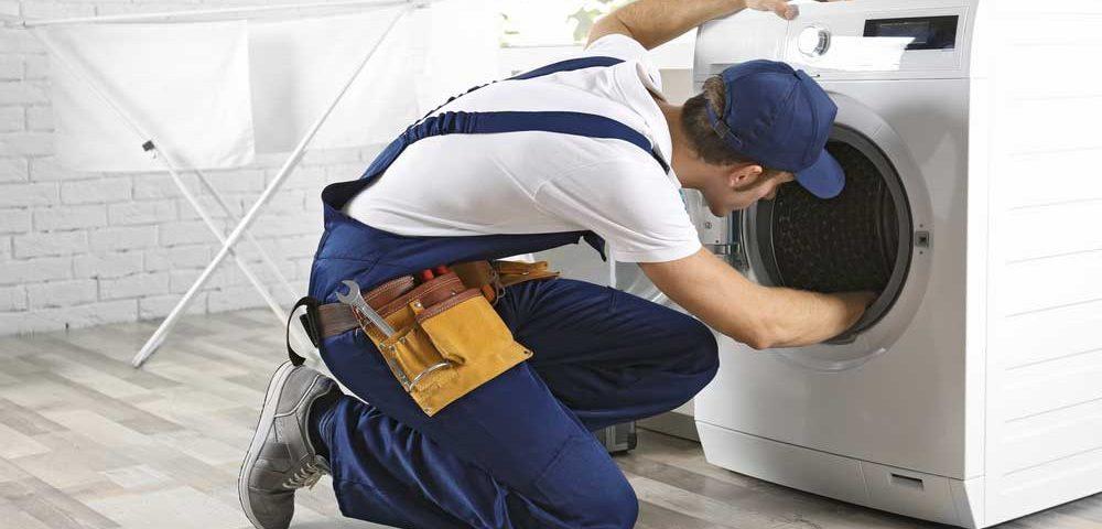 تعویض لاستیک دور درب ماشین لباسشویی